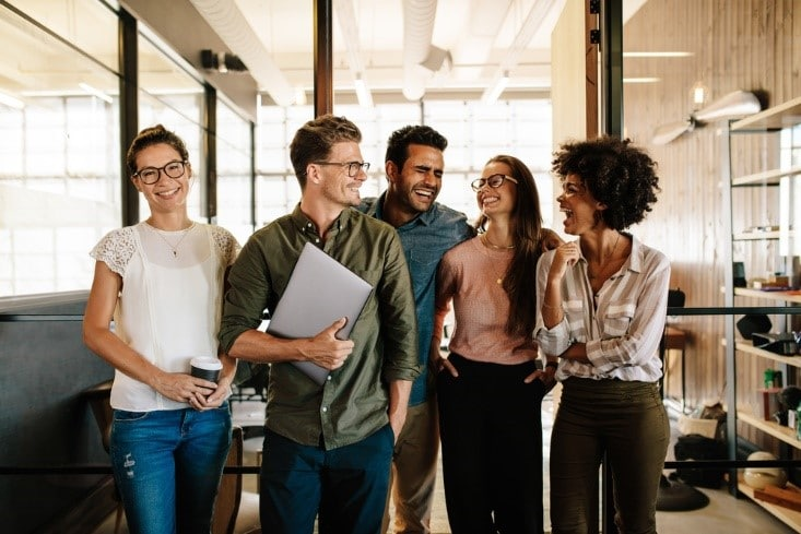 Millennial employees in the Workplace