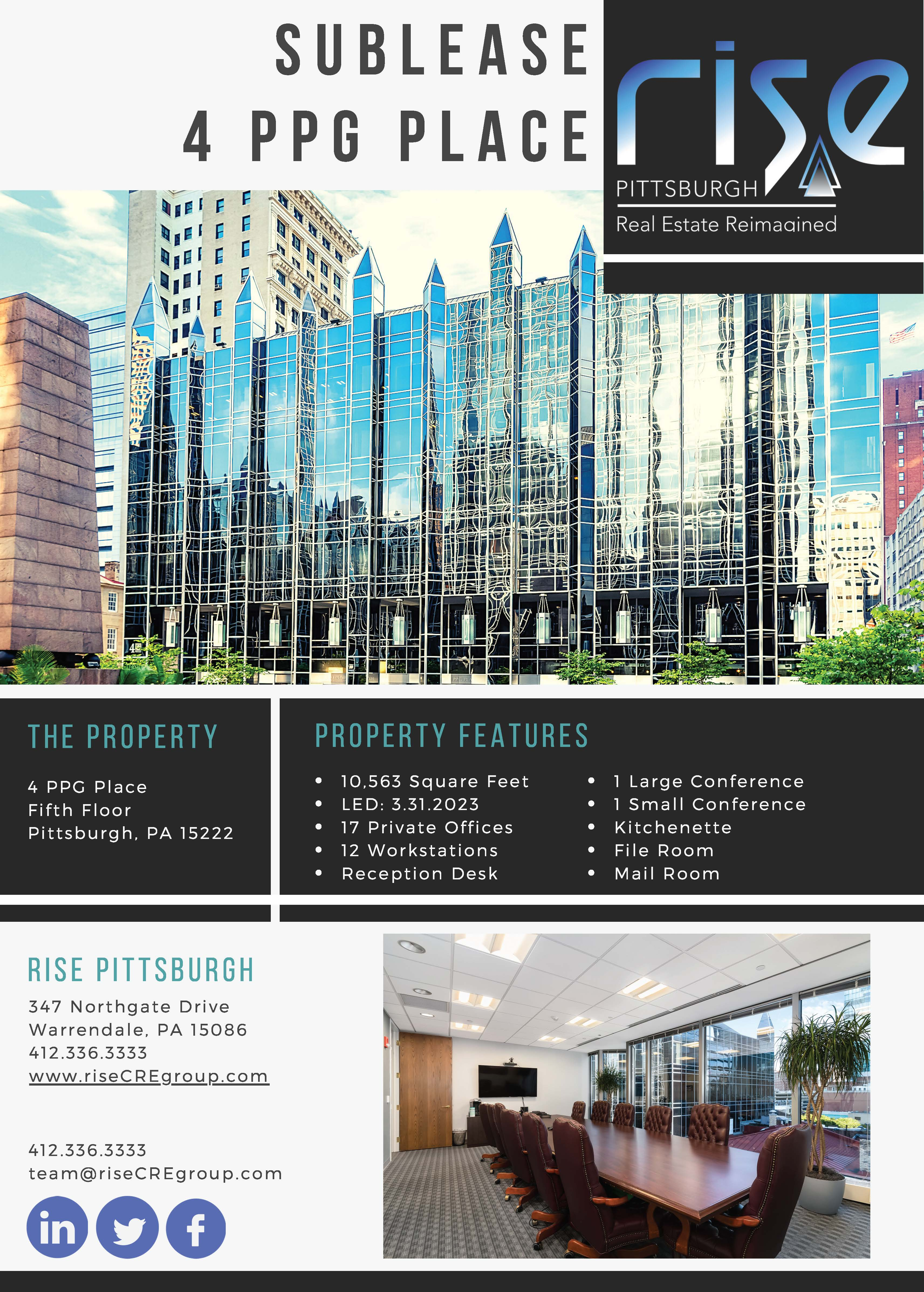 4 PPG Sublease Flyer