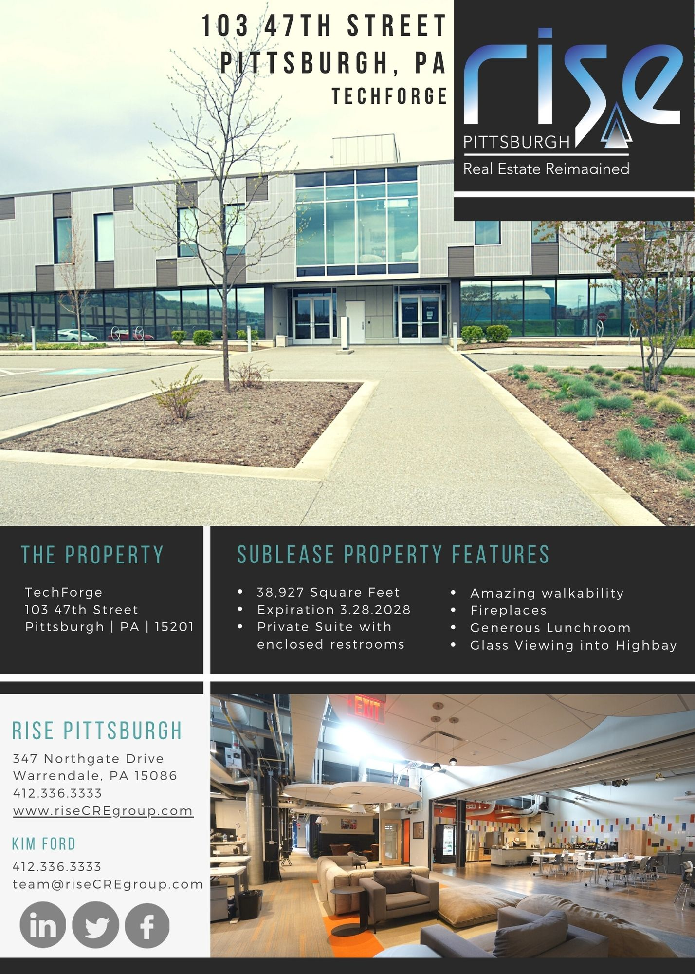 Tech Forge Sublease Lawrenceville, PA